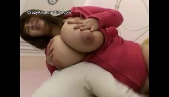 Jasmine Jae - Body massage using large boobs and mouth