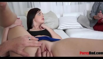 european extremely hot busty babe fucks herself with a big dildo