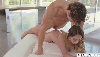 Soldier fucks two gorgeous Russian women